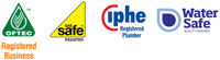 OFTEC Registered Business, Gas Safe Register, IPHE Registered Plumber